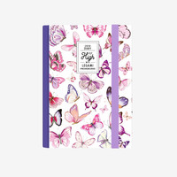 Butterfly 2019 A6 Daily Diary with Notebook