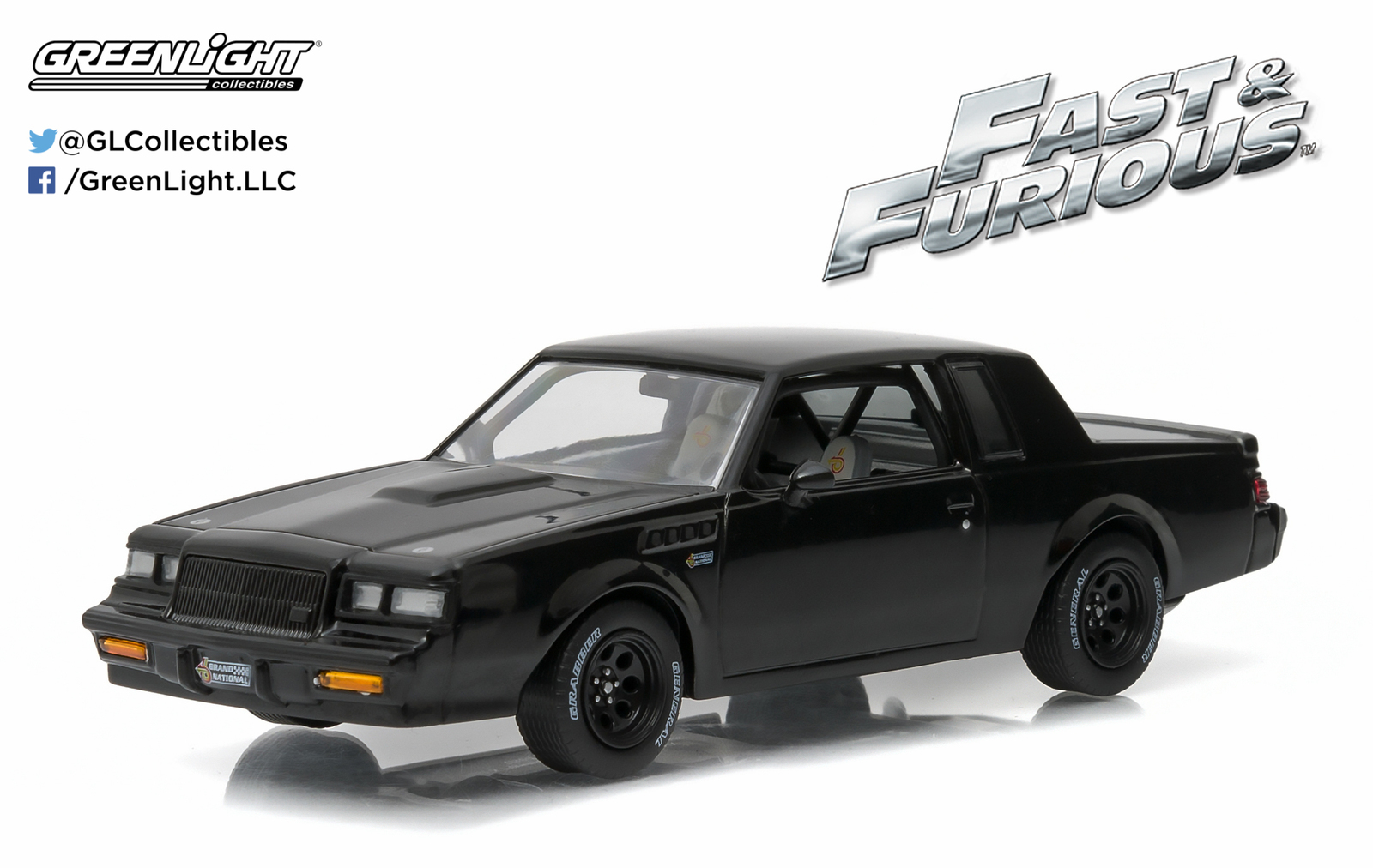 1/43: Buick Grand National GNX - Fast & Furious - Diecast Model image
