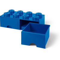 LEGO Storage Brick Drawer 8 (Bright Blue)