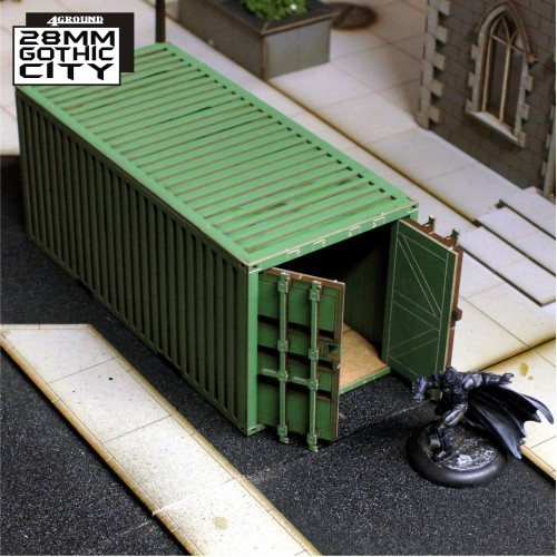 Shipping Container (Green)