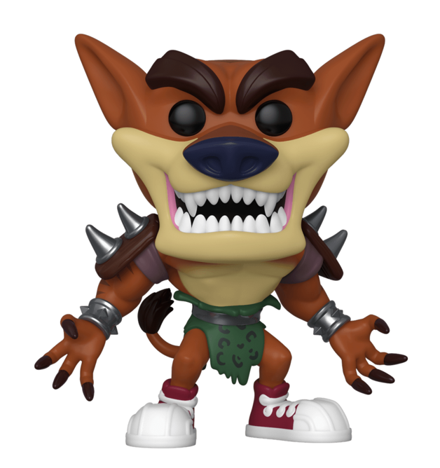 Crash Bandicoot: Tiny Tiger - Pop! Vinyl Figure
