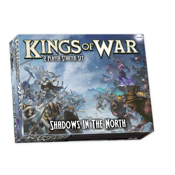 Kings of War 3rd Edition: Shadows in the North 2 Player Starter Set