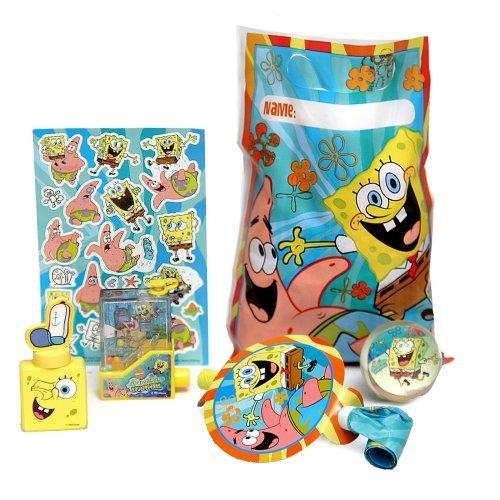Spongebob Party Favors Assorted image