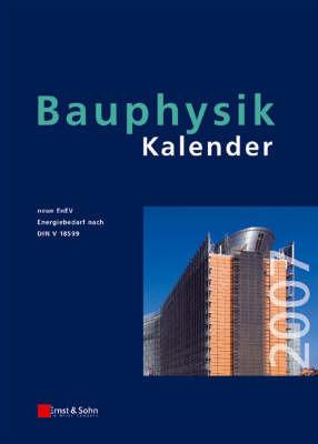 Bauphysik-Kalender: Schwerpunkt - Gesamtenergieeffizienz Von Gebauden: 2007 image