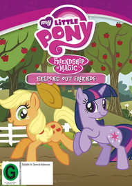 My Little Pony: Friendship is Magic - Helping Out Friends on DVD