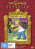 The Simpsons - Too Hot for TV DVD