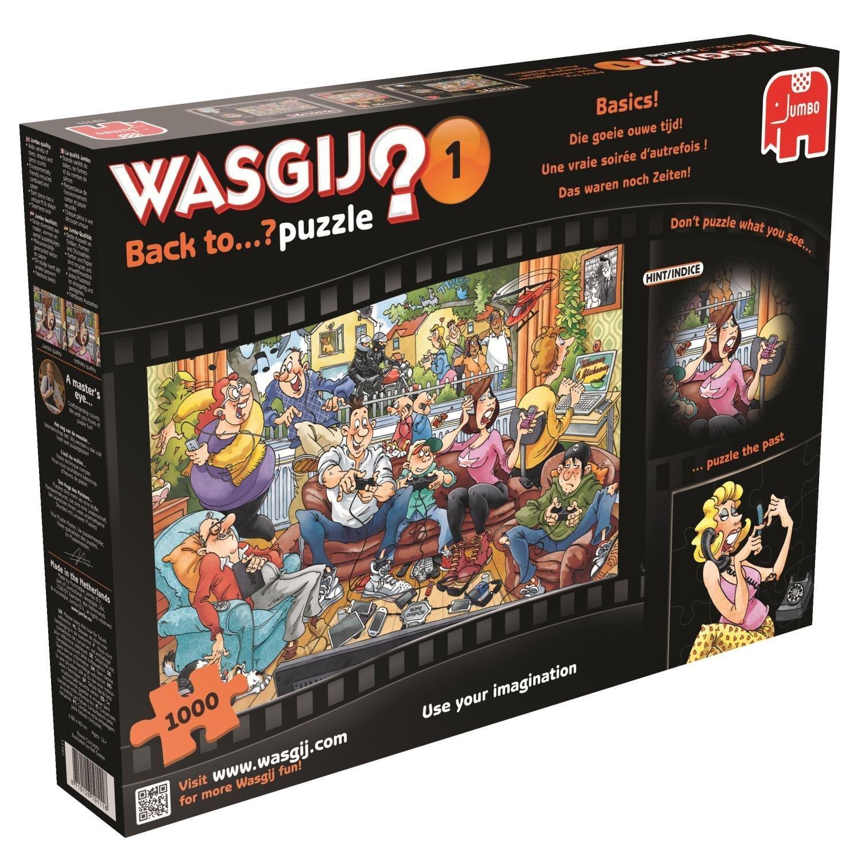 Wasgij: Back to Basics - 1000pce Puzzle image