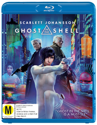 Ghost In The Shell on Blu-ray