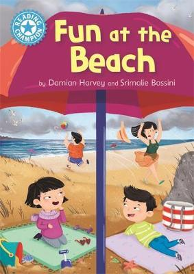 Reading Champion: Fun at the Beach by Damian Harvey