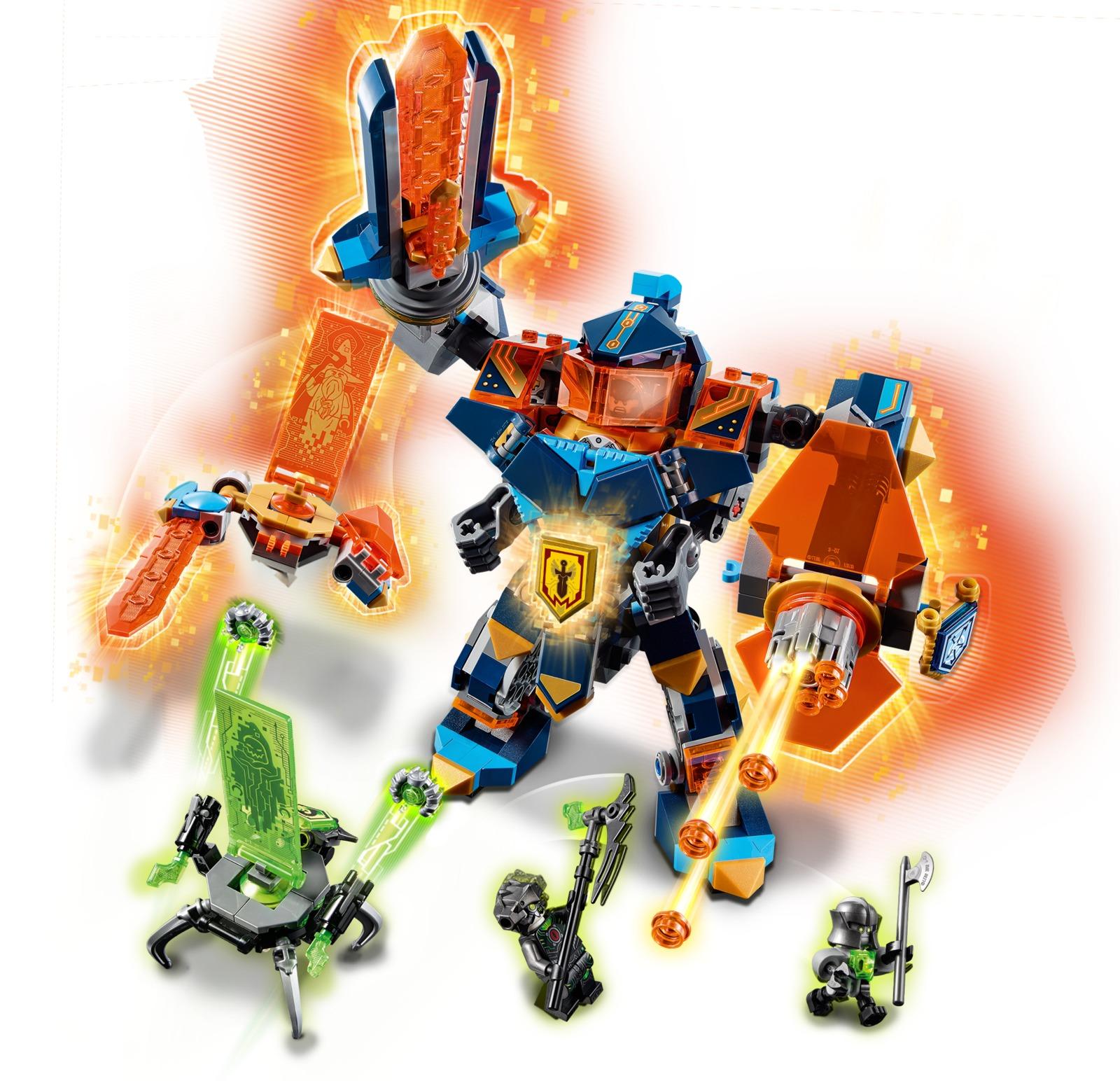 LEGO Nexo Knights: Tech Wizard Showdown (72004) | Toy | at ...