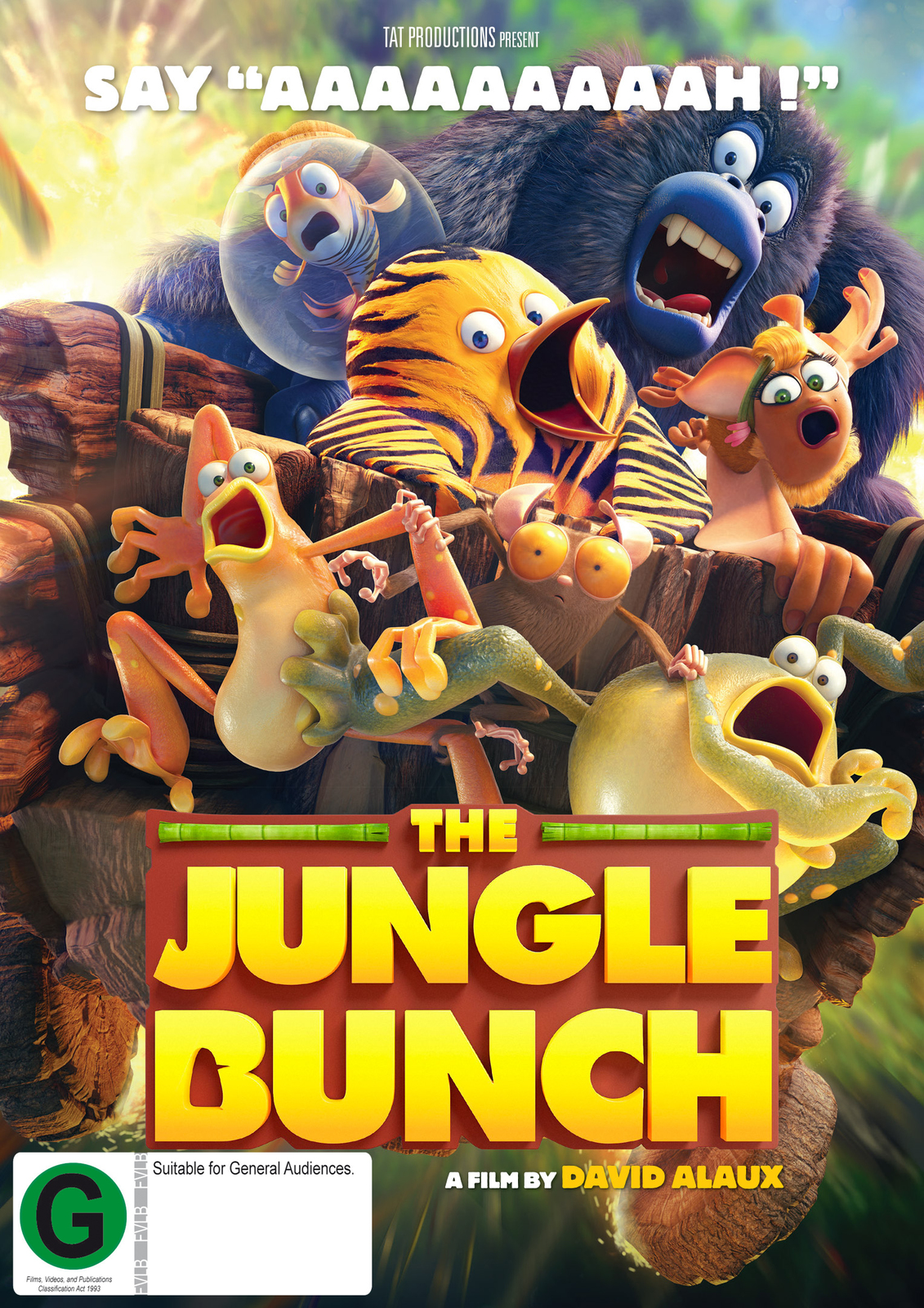 The Jungle Bunch on DVD image