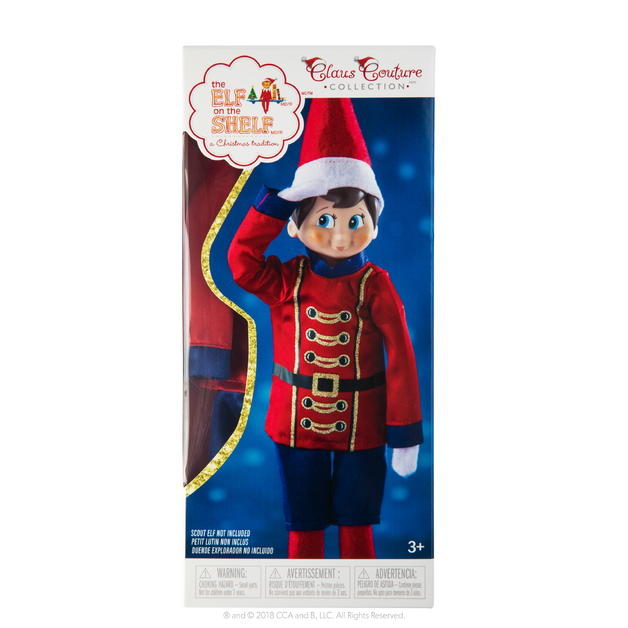 Elf on the Shelf: 2018 Couture - Sugar Plum Soldier