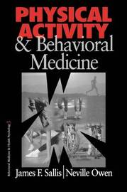 Physical Activity and Behavioral Medicine by James F. Sallis image