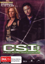 C.S.I..: Crime Scene Investigation Season 4 Episodes 4.13 - 4.23 (3 Disc Set) on DVD