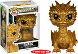 The Hobbit Golden Smaug Metallic Pop! Vinyl Figure