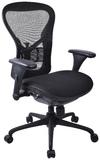 Croxley Workpro Operator Slide Mesh Back Chair (Black)