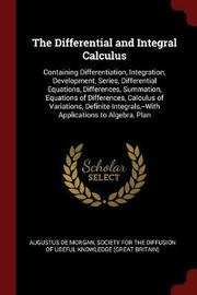 The Differential and Integral Calculus by Augustus de Morgan image