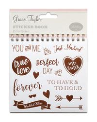 Grace Taylor Wedding - Sticker Flipbook