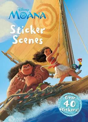 Disney Moana Sticker Scenes by Parragon Books Ltd image