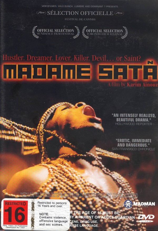 Madame Sata on DVD image