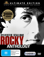 Rocky Anthology - Ultimate Edition (5 Disc Box Set) on DVD