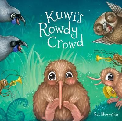 Kuwi's Rowdy Crowd by Kat Merewether