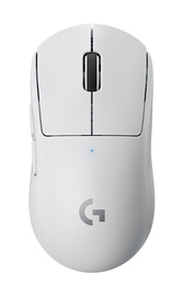 Logitech G PRO X Superlight Wireless Gaming Mouse - White for