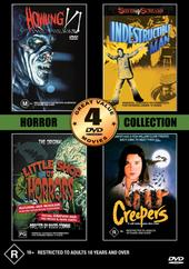 Horror Collection Two - Volume Two - 4 Movie Box Set (2 Discs) on DVD