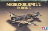 Tamiya German Messerschmitt Bf109E3 1/72 Aircraft Model Kit