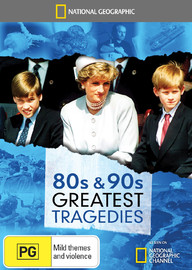 National Geographic: 80s & 90s Greatest Tragedies on DVD