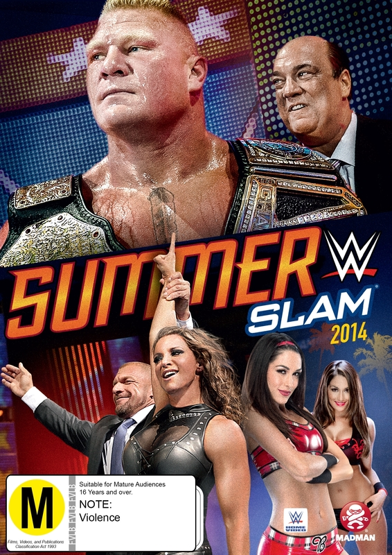 WWE Summerslam 2014 on DVD