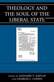 Theology and the Soul of the Liberal State image