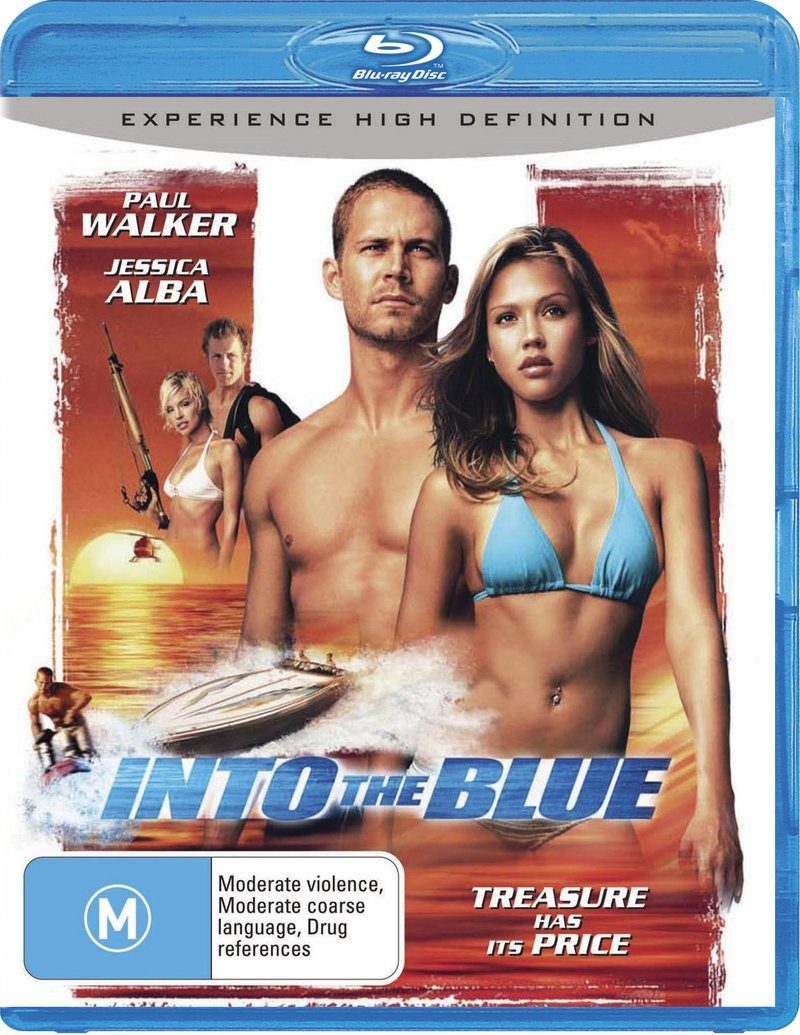 Into The Blue on Blu-ray image