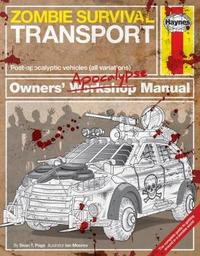 Zombie Survival Transport Manual by Sean T Page