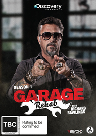 Garage Rehab - Season 1 on DVD