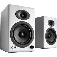 Audioengine: 5+ Wireless Powered Speakers (pair) - Gloss White