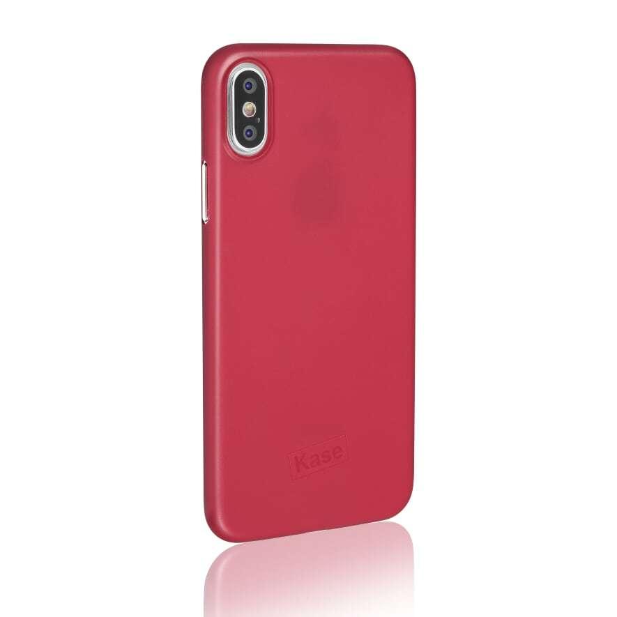 Kase Go Original iPhone X Slim Case- Lady in Red image
