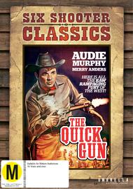 The Quick Gun on DVD