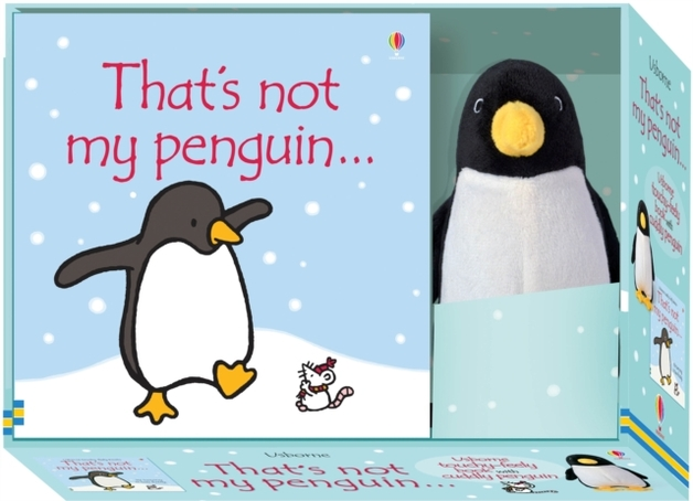 That's Not My Penguin Book and Toy by Fiona Watt