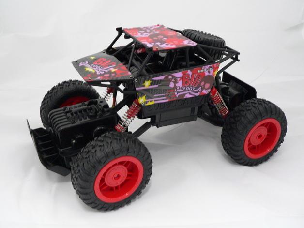Rusco R/C 1:12 Large SUV Rock Crawler - Red