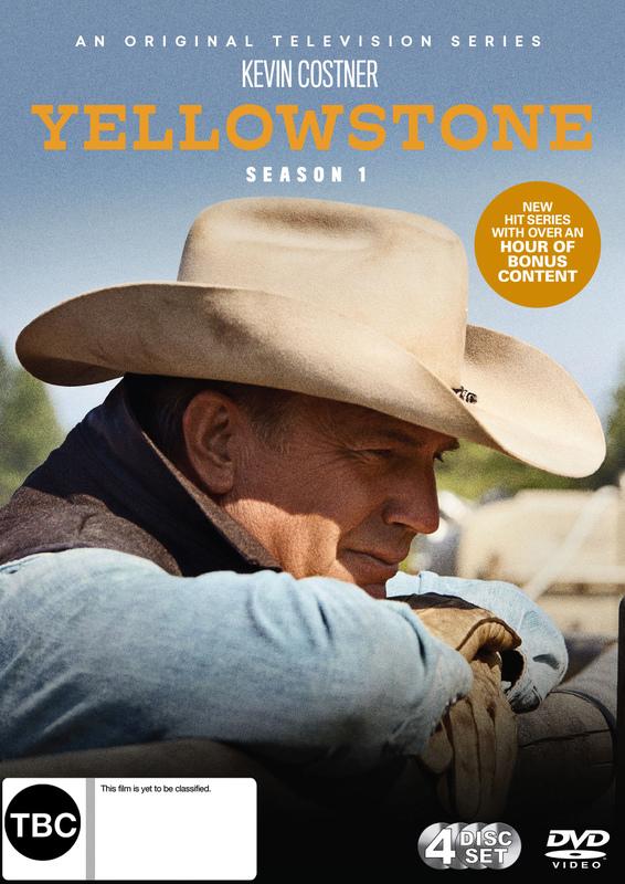 Yellowstone - Season 1 on DVD