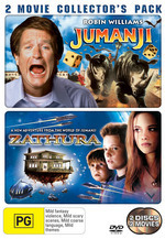 Jumanji / Zathura - 2 Movie Collector's Pack (2 Disc Set) on DVD
