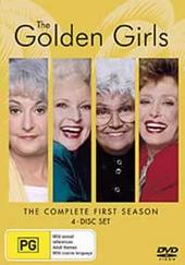 Golden Girls - Complete First  Season (4 Disc Set) on DVD