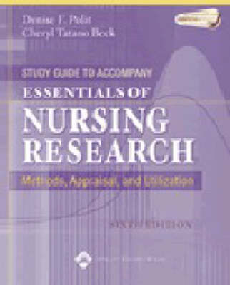 Essentials of Nursing Research: Methods, Appraisal, and Utilization: Study Guide by Denise F Polit image