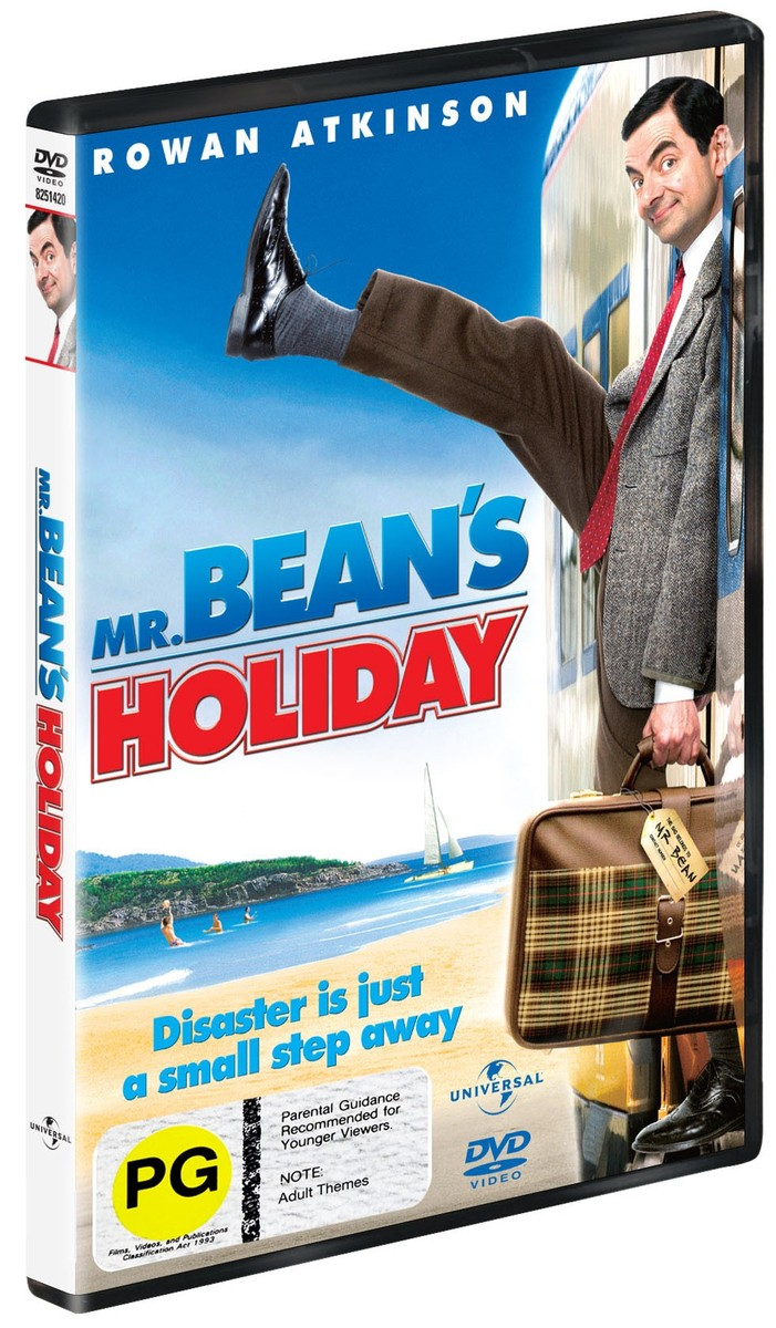 Mr Bean's Holiday on DVD image
