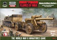 Flames of War - Heavy Artillery Battery