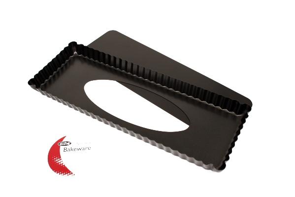 Non-Stick Rectangle Tart Pan with Loose Base