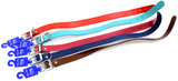 Genuine Leather Dog Collar 50cm - Assorted Colours