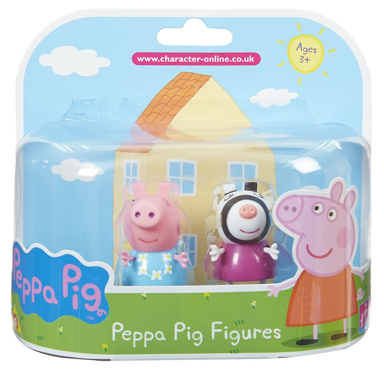 Peppa Pig Dress Zoe Zebra Toy At Mighty Ape Nz Powder Mix Green Tea Twin Pack Image