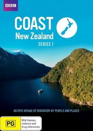 Coast New Zealand - Series 1 on DVD